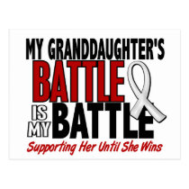 My Battle Too 1 Granddaughter BONE / LUNG CANCER Postcard