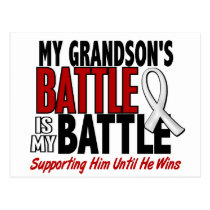 My Battle Too 1 Grandson BONE / LUNG CANCER Postcard