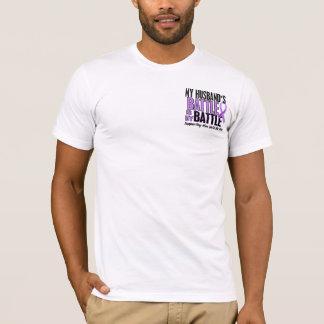 My Battle Too 1 Husband Hodgkin's Lymphoma T-Shirt