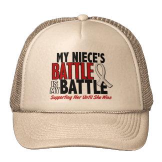My Battle Too 1 Niece BONE / LUNG CANCER Trucker Hat