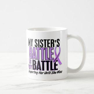 My Battle Too 1 Sister Hodgkin's Lymphoma Coffee Mug