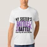 My Battle Too 1 Sister Hodgkin's Lymphoma Tshirts