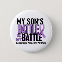 My Battle Too 1 Son Hodgkin's Lymphoma Pinback Button