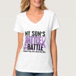 My Battle Too 1 Son Hodgkin's Lymphoma T-Shirt