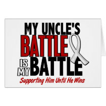 My Battle Too 1 Uncle BONE / LUNG CANCER