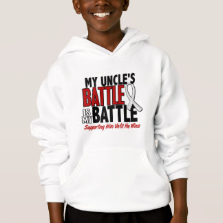 My Battle Too 1 Uncle BONE / LUNG CANCER Hoodie