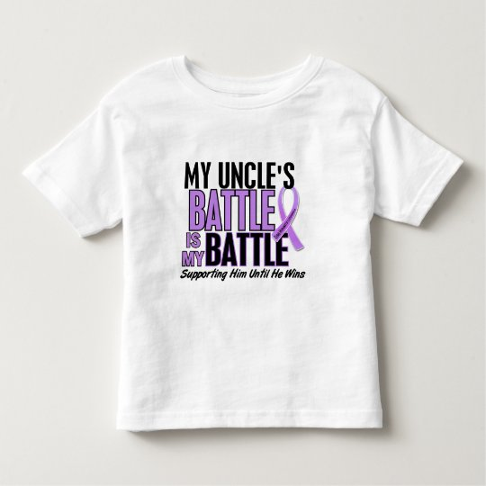 My Battle Too 1 Uncle Hodgkin's Lymphoma Toddler T-shirt