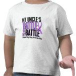 My Battle Too 1 Uncle Hodgkin's Lymphoma Tshirt