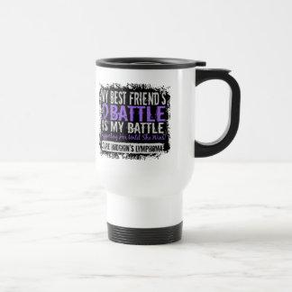 My Battle Too 2 Best Friend Female Hodgkins Lympho Travel Mug