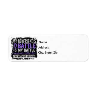 My Battle Too 2 Boyfriend Hodgkins Lymphoma Label