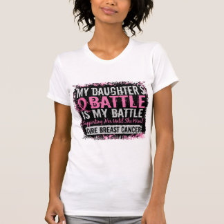 My Battle Too 2 Breast Cancer Daughter T-Shirt