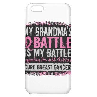 My Battle Too 2 Breast Cancer Grandma iPhone 5C Covers