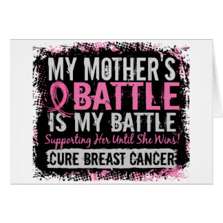 My Battle Too 2 Breast Cancer Mother Cards