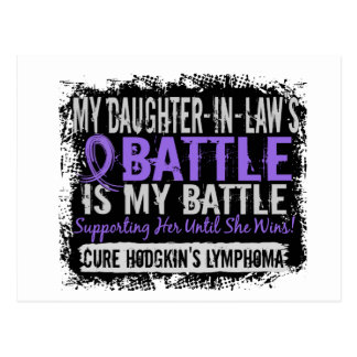 My Battle Too 2 Daughter-In-Law Hodgkins Lymphoma Postcard