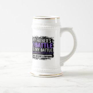 My Battle Too 2 Father Hodgkins Lymphoma Mugs