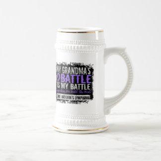 My Battle Too 2 Grandma Hodgkins Lymphoma Coffee Mug