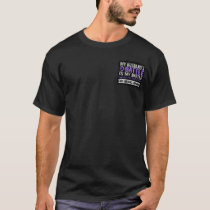 My Battle Too 2 Husband Hodgkins Lymphoma T-Shirt