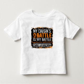 My Battle Too 2 Leukemia Cousin Male Toddler T-shirt