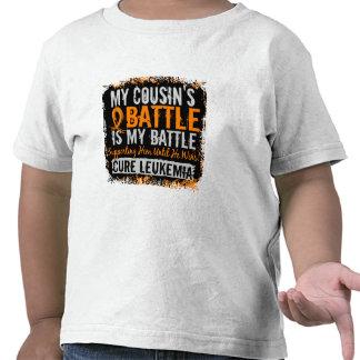 My Battle Too 2 Leukemia Cousin Male Tee Shirt