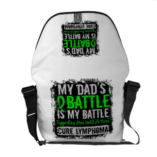 My Battle Too 2 Leukemia Mom Courier Bag
