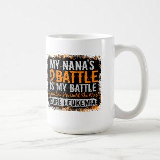 My Battle Too 2 Leukemia Nana Mugs