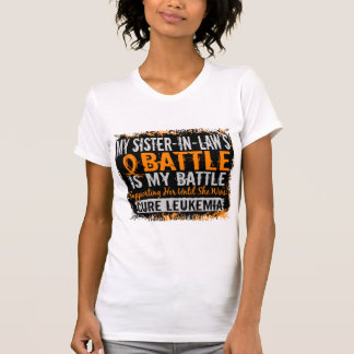 My Battle Too 2 Leukemia Sister-In-Law T-Shirt