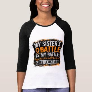 My Battle Too 2 Leukemia Sister T-Shirt