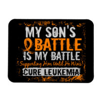 My Battle Too 2 Leukemia Son Magnet