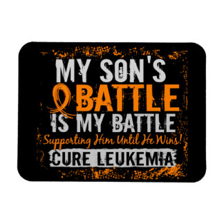 My Battle Too 2 Leukemia Son Magnet