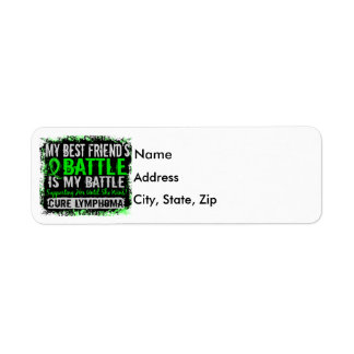 My Battle Too 2 Lymphoma Best Friend Female Label