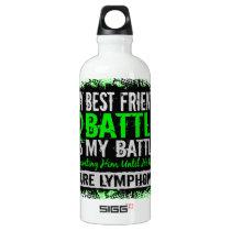My Battle Too 2 Lymphoma Best Friend Male Water Bottle