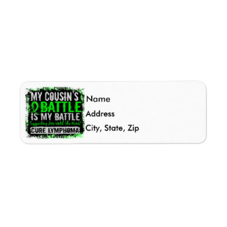 My Battle Too 2 Lymphoma Cousin Female Label