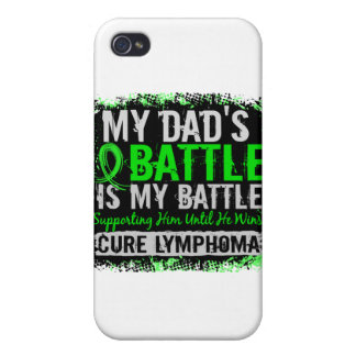 My Battle Too 2 Lymphoma Dad iPhone 4/4S Cases