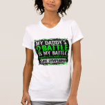 My Battle Too 2 Lymphoma Daddy T-shirts