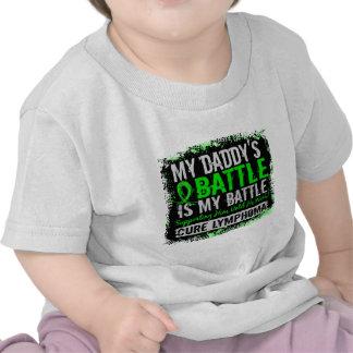 My Battle Too 2 Lymphoma Daddy T-shirt