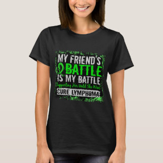 My Battle Too 2 Lymphoma Friend Female T-Shirt