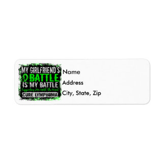 My Battle Too 2 Lymphoma Girlfriend Label