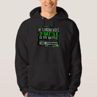 My Battle Too 2 Lymphoma Granddaughter Hooded Sweatshirt