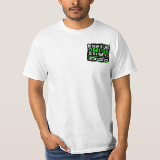 My Battle Too 2 Lymphoma Mother-In-Law T-Shirt