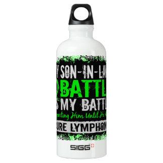 My Battle Too 2 Lymphoma Son-In-Law Water Bottle