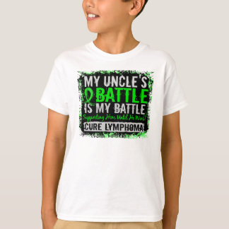 My Battle Too 2 Lymphoma Uncle T-Shirt