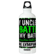 My Battle Too 2 Lymphoma Uncle Water Bottle