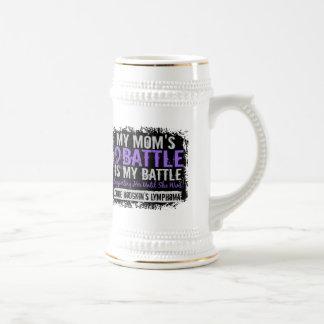 My Battle Too 2 Mom Hodgkins Lymphoma Mugs