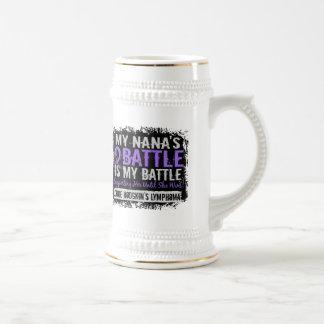 My Battle Too 2 Nana Hodgkins Lymphoma Mug