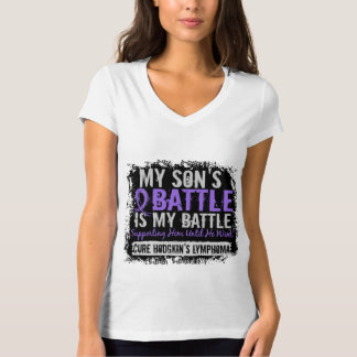 My Battle Too 2 Son Hodgkins Lymphoma T-Shirt