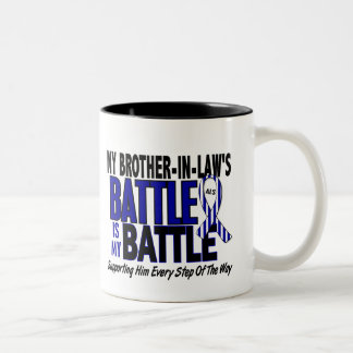 My Battle Too ALS Brother-In-Law Two-Tone Coffee Mug