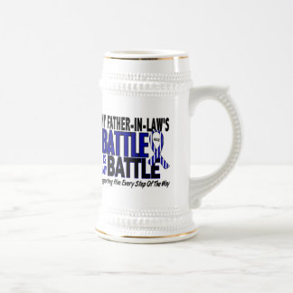 My Battle Too ALS Father-In-Law 18 Oz Beer Stein