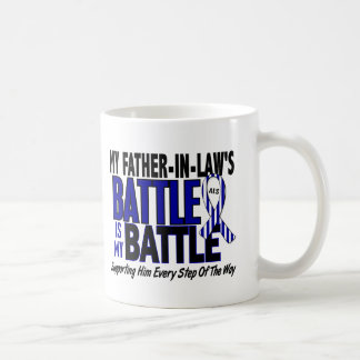 My Battle Too ALS Father-In-Law Classic White Coffee Mug