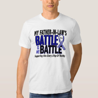 My Battle Too ALS Father-In-Law Shirt