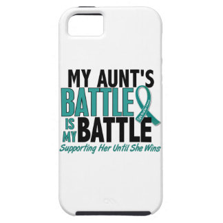 My Battle Too Aunt Ovarian Cancer iPhone SE/5/5s Case